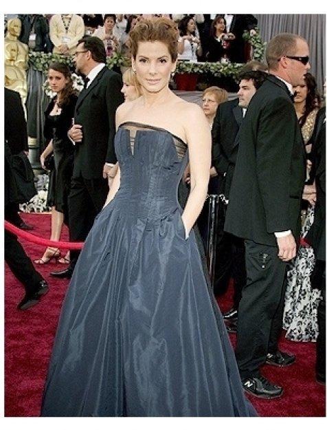 78th Annual Academy Awards Red Carpet Photos:  Sandra Bullock