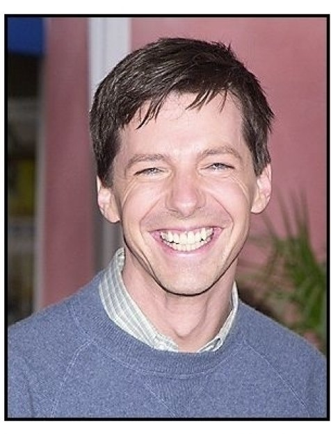 "Sean Hayes at the ""Dr. Seuss' Cat in the Hat"" premiere"