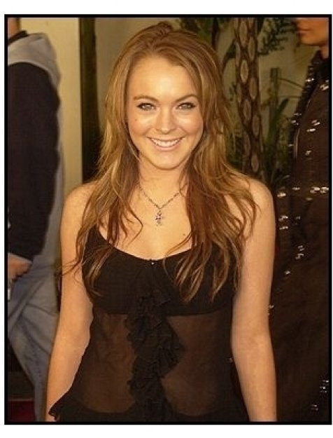 """Lindsay Lohan at """"The Perfect Score"""" Premiere"""