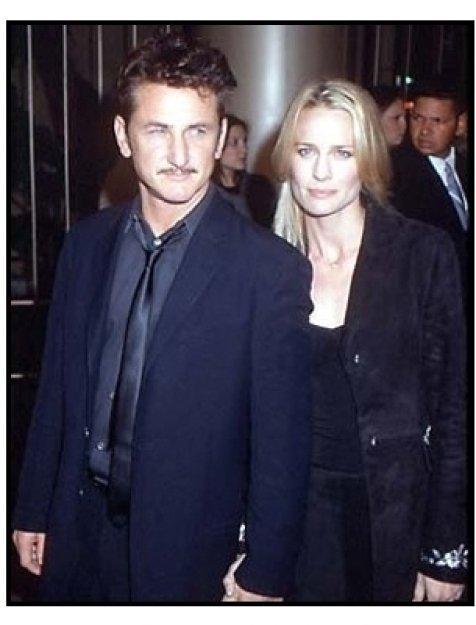 Sean Penn and Robin Wright Penn at The Pledge premiere