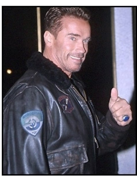 Arnold Schwarzenegger at the The 6th Day Premiere