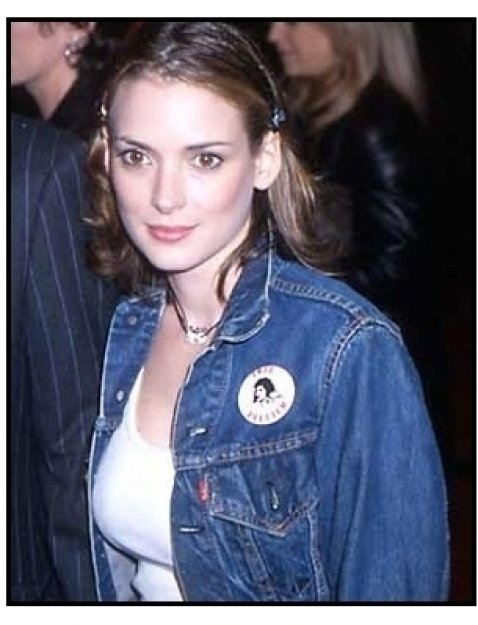 Winona Ryder at The Pledge premiere