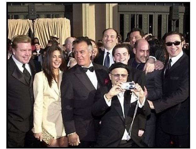 The cast of The Sopranos at the 2002 SAG Screen Actors Guild Awards
