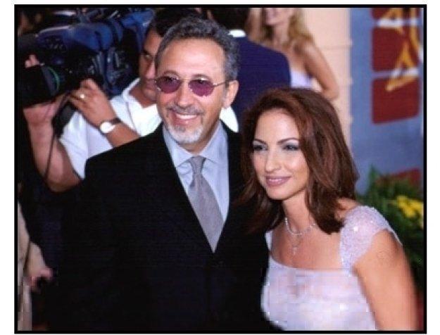 Gloria and Emilio Estefan at the 2001 Billboard Latin Music Awards