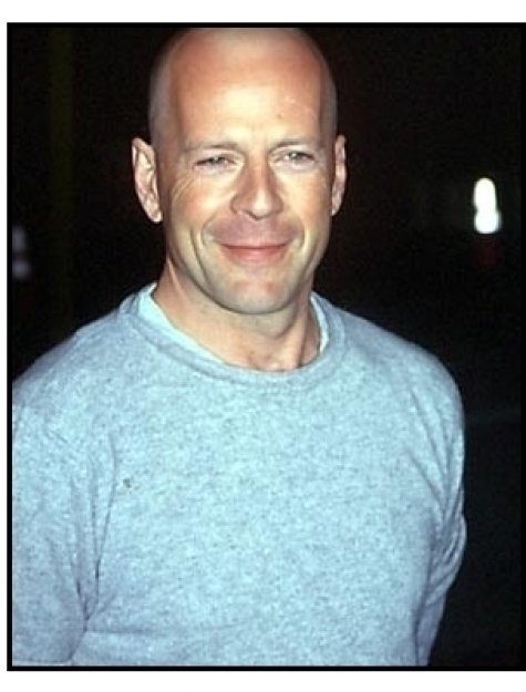 Bruce Willis at the All the Pretty Horses premiere