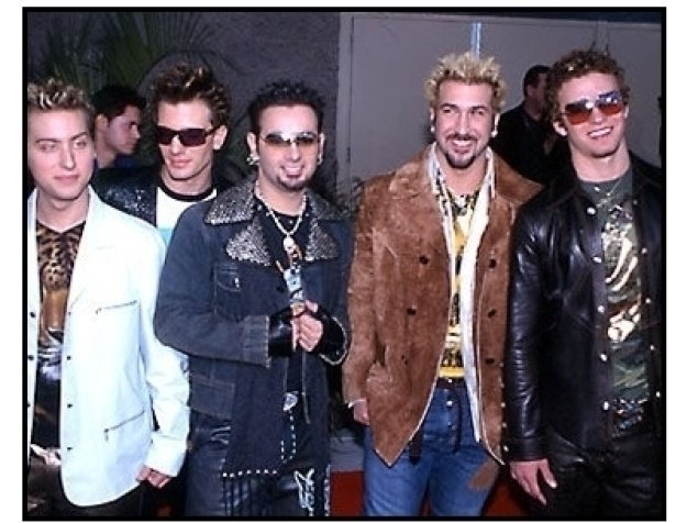 'N Sync at the 2000 Billboard Music Awards