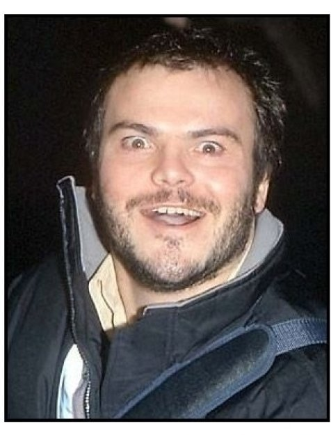 Jack Black at the Saving Silverman premiere