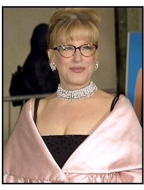 Bette Midler at the 2001 TV Guide Awards