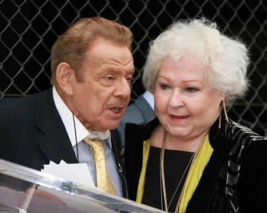 Jerry Stiller and Estelle Harris