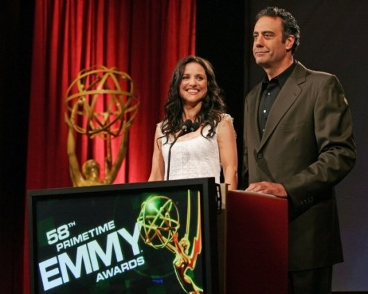 Julia Louis-Dreyfus and Brad Garrett