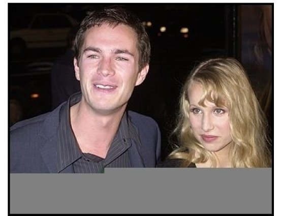"""James D'Arcy and Lucy at the """"Master and Commander"""" premiere"""
