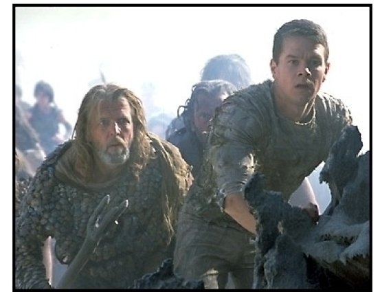 Planet of the Apes movie still: Mark Wahlberg 2