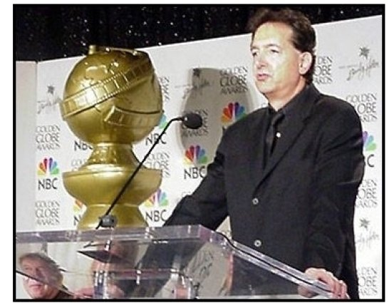 Barry Adelman at the 2001 Golden Globe nominations