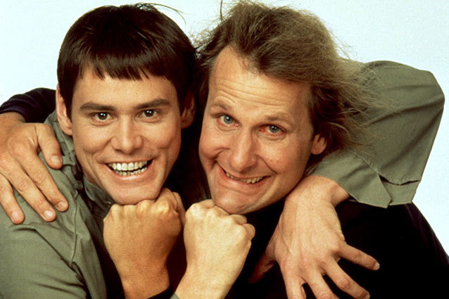 Dumb and Dumber, Jim Carrey, Jeff Daniels
