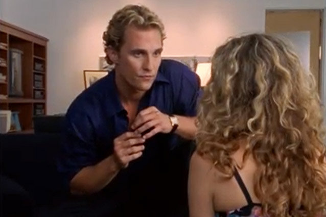 Matthew McConaughey, Sex and the City