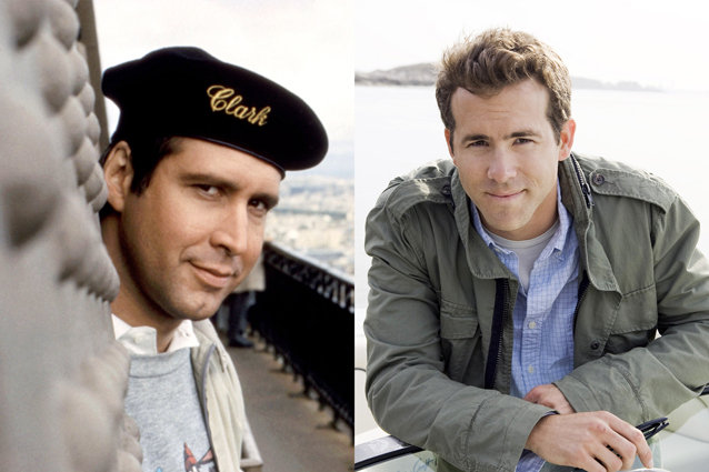 Chevy Chase and Ryan Reynolds