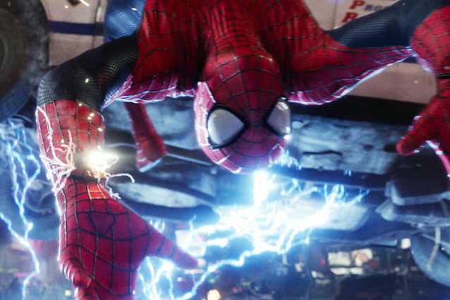 'The Amazing Spider-Man 2' Slomo Save Clip
