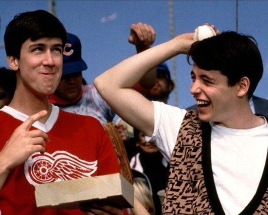 Alan Ruck in 'Ferris Bueller's Day Off'