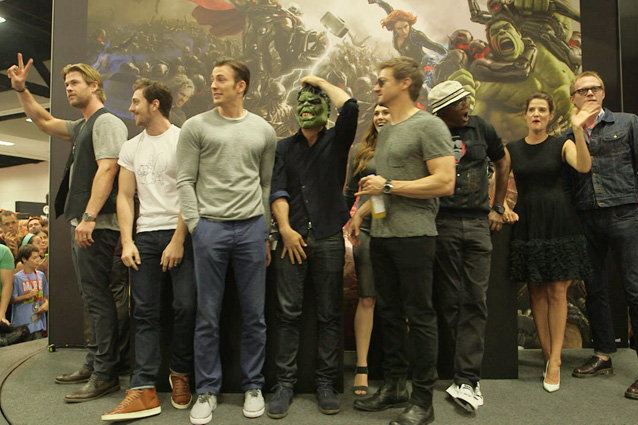 'The Avengers: Age Of Ultron' Comic-Con Highlights