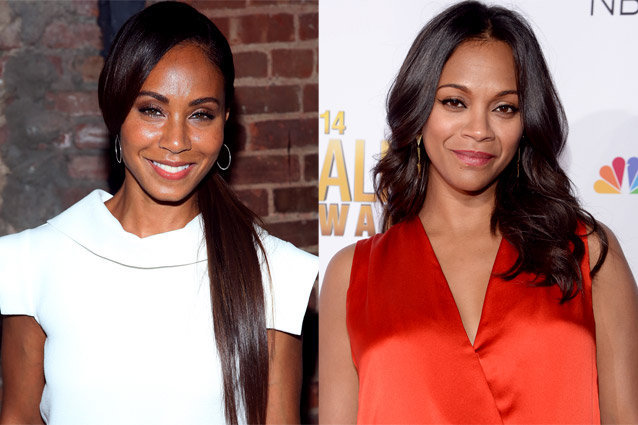 Jada Pinkett Smith, Zoe Saldana