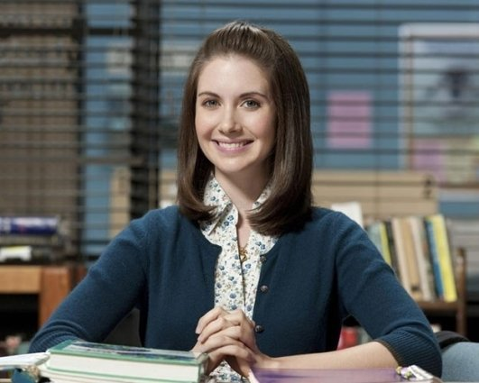 Alison Brie in Season 1 of 'Community'