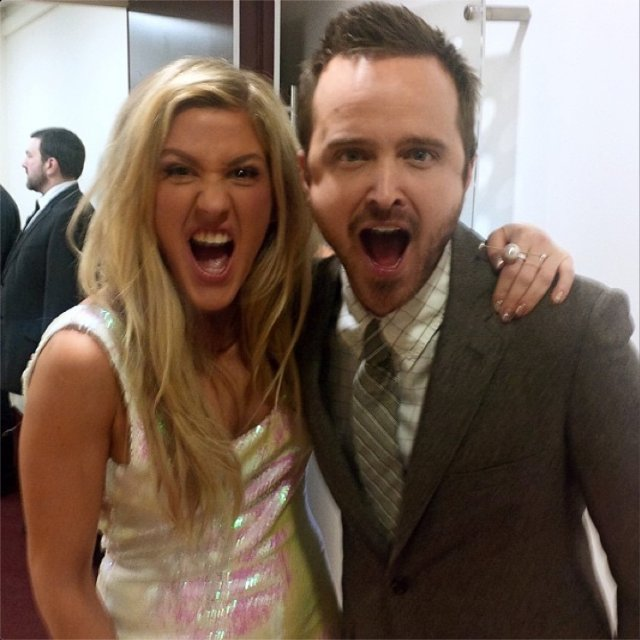 Aaron Paul, Instagram
