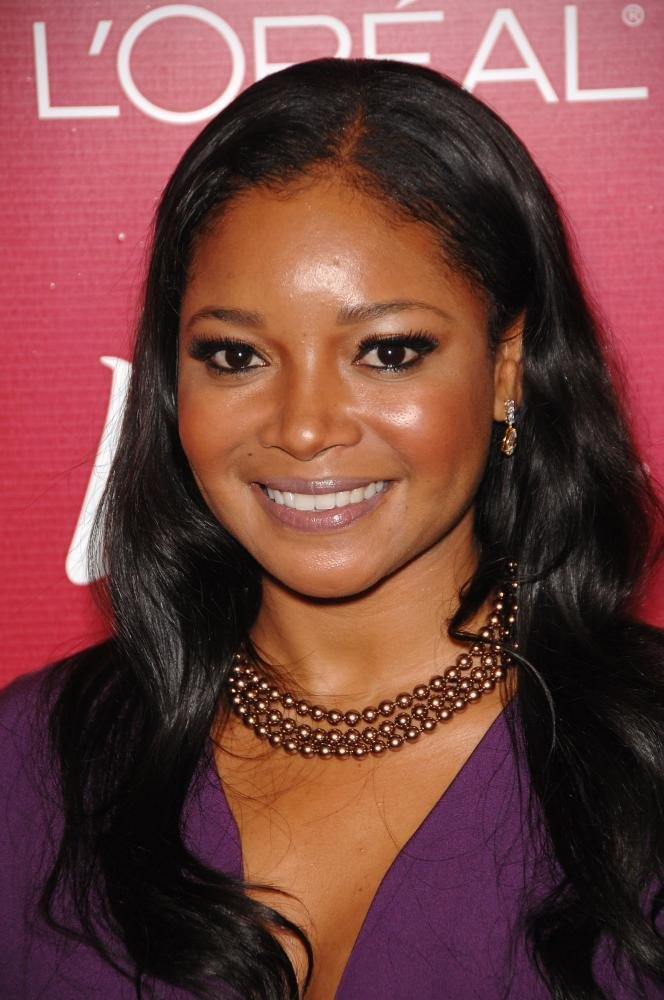 bright-eyed, smooth-skinned and poised African-American actress