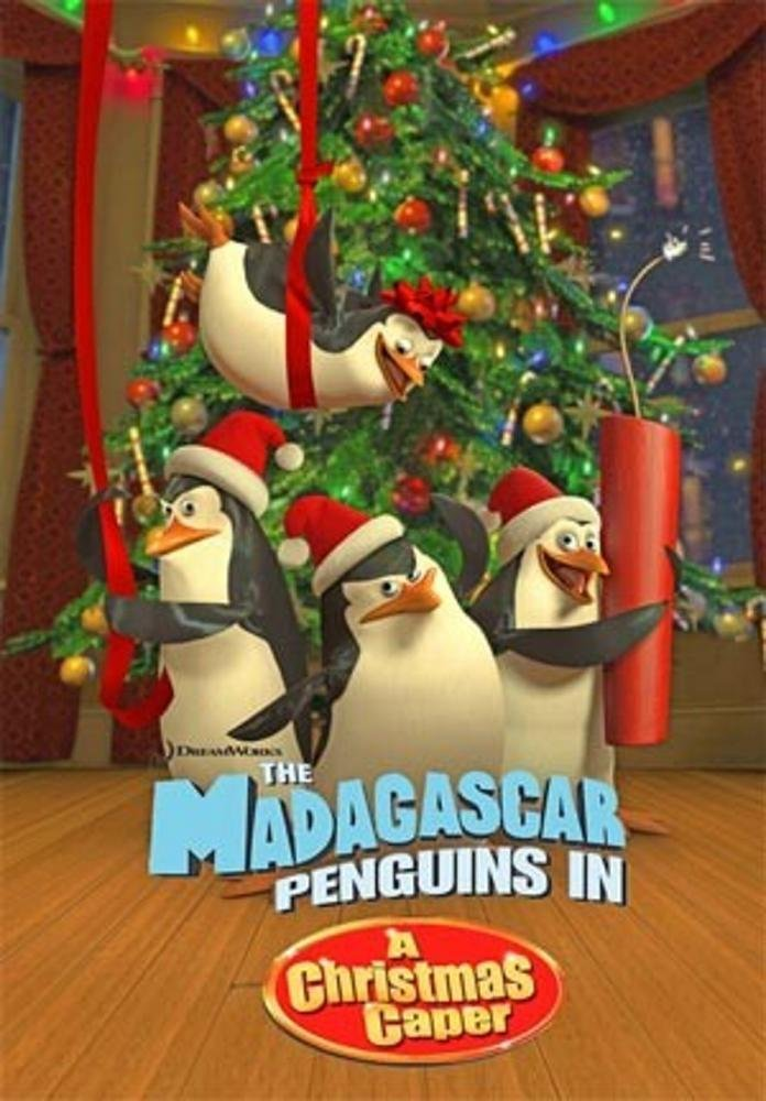 Madagascar Penguins in a Christmas Caper